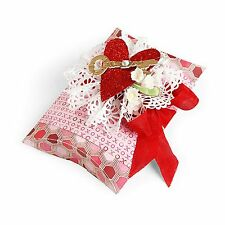 Sizzix Pillow Box Movers/Shapers magnetic L die #658268 Retail $29.99 Tim Holtz!