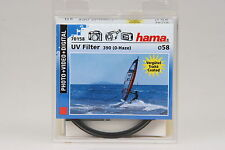 Hama UV Filter 390 0-Haze, Ø58mm #70158 in OVP