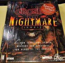 BLOOD II: THE CHOSEN NIGHTMARE LEVELS  PC CD-ROM WINDOWS 95/98 BIG BOX Sealed