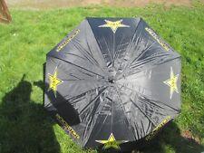 New Rockstar Energy Black/yellow motocross enduro golf umbrella ROC002