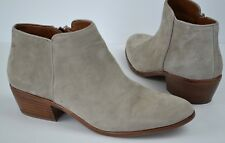 Sam Edelman Petty Chelsea Putty Suede Ankle Bootie Size 8.5