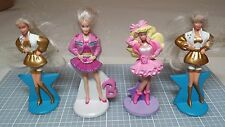 4 Pc. Barbie & Friends Figurines McD's Happy Meal Toy