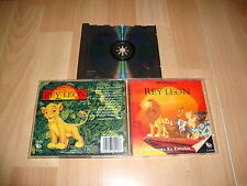 EL REY LEON BANDA SONORA SOUNDTRACK DE WALT DISNEY MUSIC CD EN CASTELLANO 1994