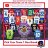 PICK YOUR TEAM 2020 GOLD RUSH SERIES 6 AUTO FOOTBALL JERSEY (1)BOX BREAK #33
