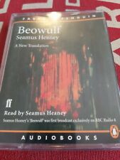 Seamus Heaney. Beowulf. Audio Book cassettes.