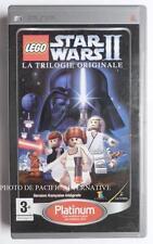 jeu LEGO STAR WARS II 2 platinum sur sony PSP en francais game spiel juego gioco
