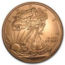 5 oncia 999 Rame Moneta rame rame Piedi Liberty Lady Argento Eagle Motif NUOVO