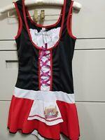 LEG AVENUE JR / TEEN SMALL/MEDIUM LITTLE RED RIDING HOOD COSTUME HALLOWEEN DRESS