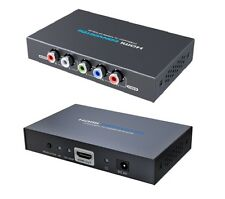 LKV356-4K Component(YPbPr) Component To HDMI 4K Scaler for Wii/PS2/XBOX/STB/DVD
