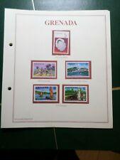 GRENADA, LOT timbres oblitérés et/ou neufs, VF STAMPS