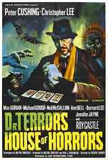 Dr Terrors House Of Horrors Poster 02 Metal Sign A4 12x8 Aluminium
