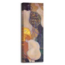 Gustav Klimt pesci d'oro design quadro stampa tela dipinto telaio arredo casa