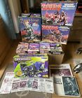 Tomy Zoids Spare Boxes And Manuals Vintage