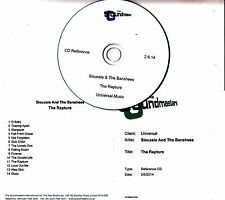 SIOUXSIE & THE BANSHEES The Rapture 2014 UK 14-track studio reference CD-R