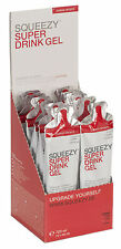 Squeezy Super Drink Gel Box 12x60ml Zitrone+Koffein