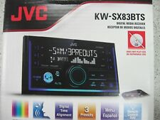 JVC KW-SX83BTS in-Dash Receiver, Front USB