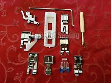 Low Shank Snap On Pressure Foot Feet Set Brother, Singer, Kenmore  11 Pieces