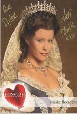 Maike Boerdam  Elisabeth  Das Musical Autogrammkarte signiert  364327
