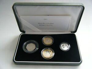 2005 Silver Piedfort Proof 4 Coin Set Royal Mint UK