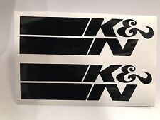 "X2 5"" K&N Vinyl Decal Sticker COLORS Air Filter Chevy Ford Jeep Toyota Honda"