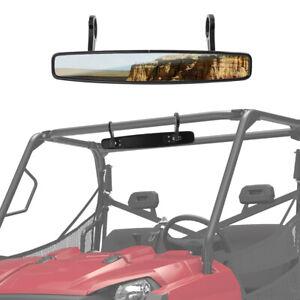 "15"" Wide Rear View Race Mirror Convex Mirror w/. 1.75"" Clamp ATV UTV for Polaris"