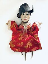 Puppet Marionette Male Wood Doll Burmese Folk Art Puppet Asian Collectable