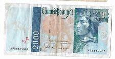 EUROPA: 2000 ESCUDOS BANCO DE PORTUGAL. AÑO 1997. CON SERIE. BC+/GOOD. IDEAL.