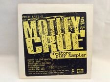 Motley Crue In Store Play Sampler Promo CD From Elektra Album (PRCD-8955-2) B25