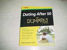 NEW Dating After 50 For Dummies Book PB AARP Pepper Schwartz Sex Relationships