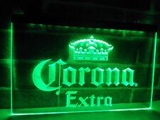 Corona Extra Beer LED Neon Light Sign Bar Club Pub Advertise Decor Home Gift Set