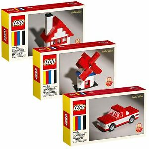 LEGO Classic 60th Anniversary Limited Edition House, Windmill, and Truck
