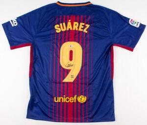 Luis Suarez Signed Barcelona Nike Jersey (Beckett COA) Futbol Club Barcelona