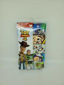 Toy Story 4 Disney Pixar Kids 5 Cotton Briefs Underwear Boys Size 4