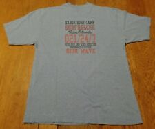 #2917-10 River Woods Kanoa Surf Camp Surf, Sun & Wind Graphic T-Shirt XL