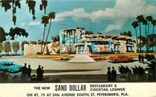 Crystal Gardens San Dollar Restaurant St Petersburg Florida Postcard 12340