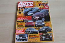 125095) BMW 523i vs Saab 9-5 2.3 T vs Mercedes E 240 Auto Magazin 02/1998