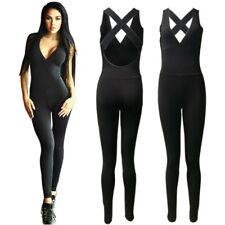 Sport Gym Yoga Running Fitness Suit Women Legging Pant Jumpsuit Athletic Romper