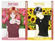 Kare Kano His and Her Circumstances Volume 1 & 2 by Masami Tsuda (English Manga)