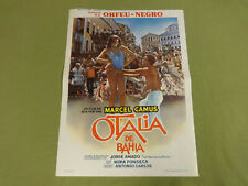MOVIE POSTER / CINEMA AFFICHE - OTALIA DE BAHIA (MARCEL CAMUS, JORGE AMADO)