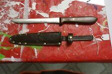 Anton wingen Jr Othello Fish knife with wooden handle