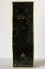 LANVIN EAU ARPEGE ATOMISEUR Eau de Toilette 60 ml OVP EdT Vintage Rare