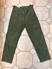 BRITISH ARMY 1960 PATTERN COMBAT TROUSERS SIZE 7 1968. (LIGHTLY USED CONDITION).