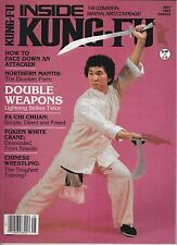 kung-fu inside kung-fu-back issues-may 1983
