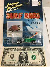 Johnny Lightning Surf Rods: Green 6-Foot Swells - 2001