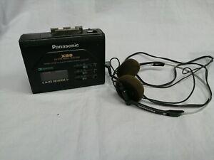 Panasonic RQ-P155 Vintage Walkman Stereo Cassette Player With Headset