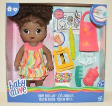 BABY ALIVE Finger Paint Baby Magical Color Reveal African American DOLL HASBRO