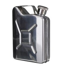 5oz Stainless Steel Jerry Can Hip Flask Liquor Whisky Pocket Bottle Funnel