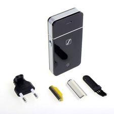 Men's Rechargeable Razor Shaver Trimmer Pocket Size Portable Travel Lightweight