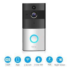 YAFEX Video Türklingel Video Klingel Bewegungserkennung Nachtsicht 8GB WIFI DE