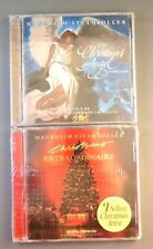 NEW Lot of 2 Mannheim Steamroller CDs Christmas Angel & Extraordinaire SEALED